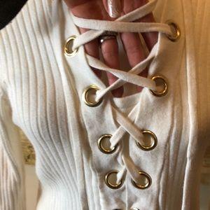 MICHAEL Michael Kors Sweaters - Michael Kors ribbed ribbed top
